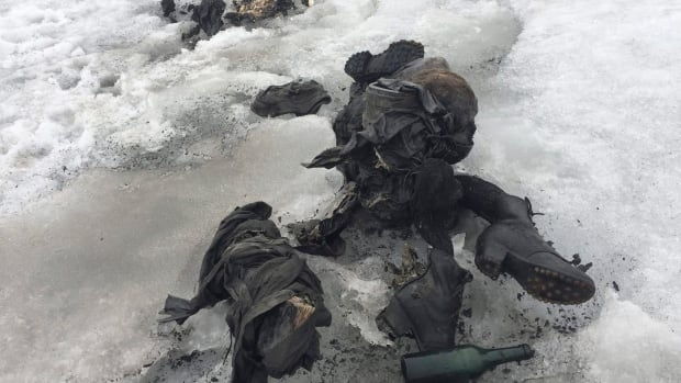 Two bodies found last week among a Swiss glacier have been identified through DNA analysis as Marcelin Dumoulin and his wife, Francine, who went missing Aug. 15, 1942.