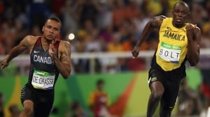 Andre De Grasse 'booted out' of 100-m showdown against Bolt