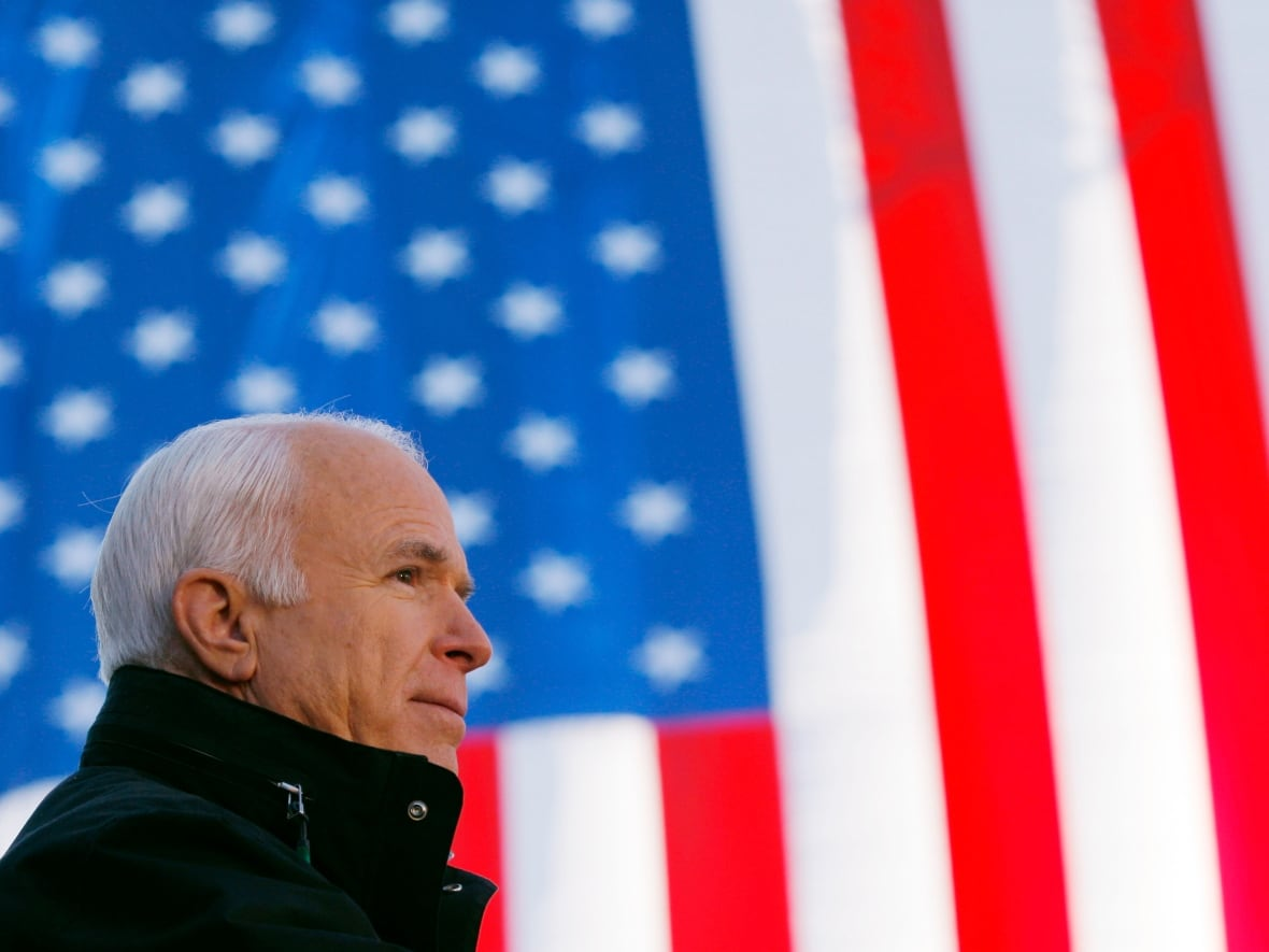 John McCain Served For Three Decades In The US Senate And Was Republican Partys Nominee President 2008 Presidential Election