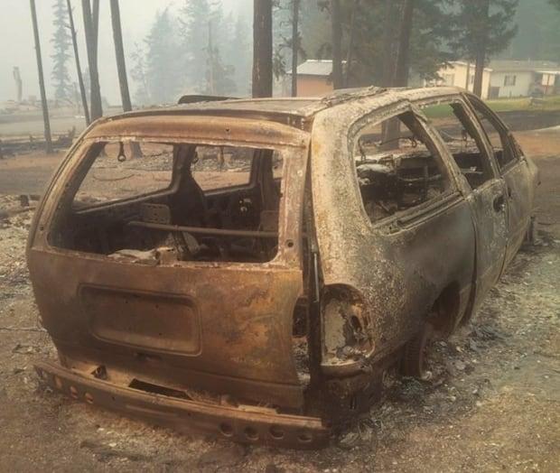 Property damage Loon Lake