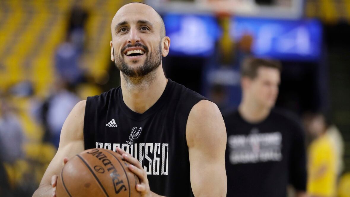 After spending 16 years together as teammates with the San Antonio Spurs Manu Ginobili has bid adieu to Tony Parker