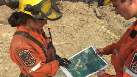 BC Fires 2017 - André Anna Sullivan and Jayme Martel