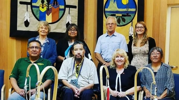Senator Lynn Beyak met with community leaders and residential school survivors in Sioux Lookout, Ont., on July 11 to discuss issues surrounding truth and reconciliation.