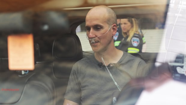 Anthony Crocco, an emergency pediatrician, sits in a car on a 30 C day with the windows up, doors shut and engine off. He did it for about 15 minutes to urge adults not to leave kids locked in hot cars.