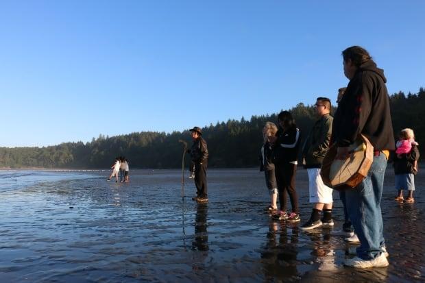 Tribal Canoe Journey launch