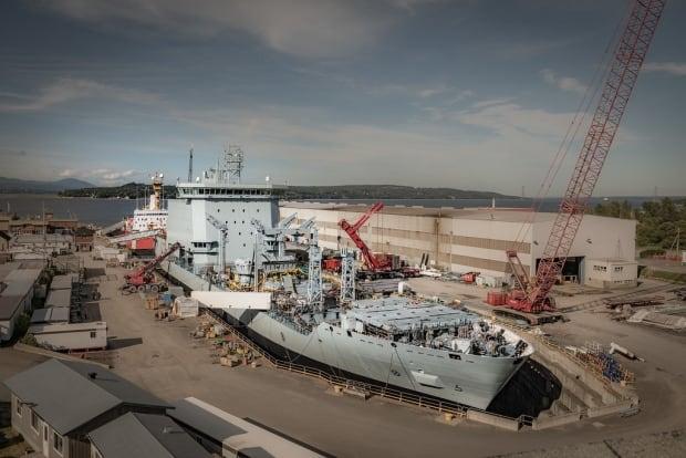 MV Asterix - Temporary Navy Supply Ship