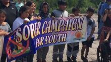 Sober Campaign closeup