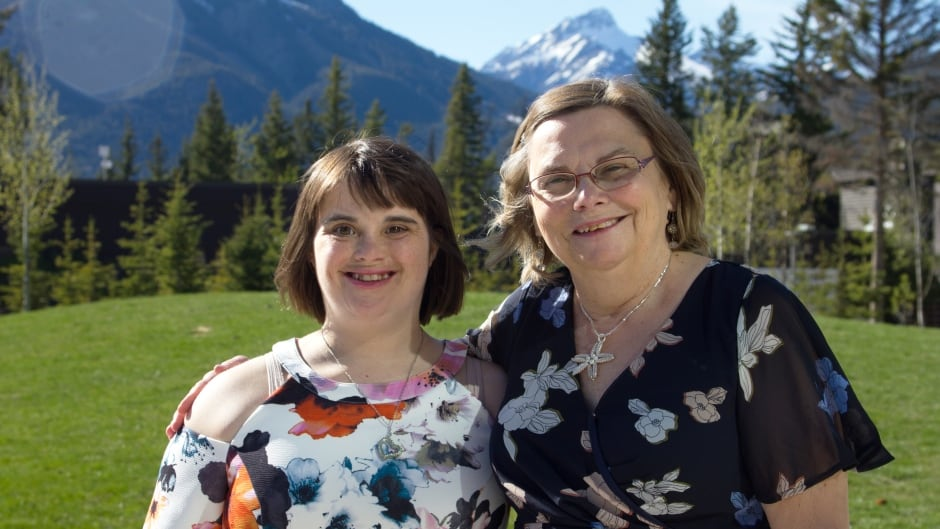 Janet Charchuk and her mom Jackie.