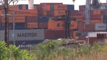four men found inside port of montreal shipping container