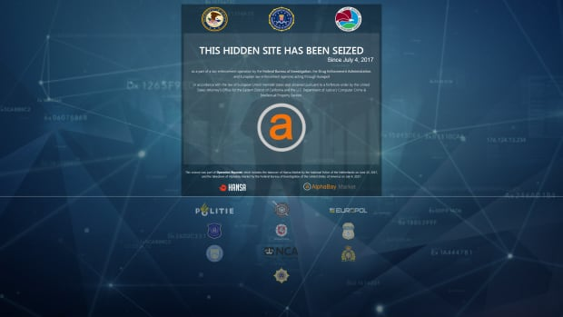 AlphaBay takedown site notice