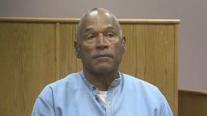 O.J. Simpson making his case for freedom from prison
