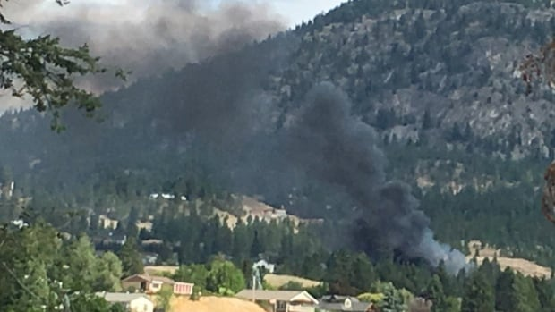 Wildfire breakout in Penticton, BC leads to evacuations