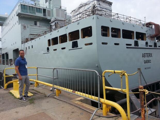 Alex Vicefield Davie shipyard