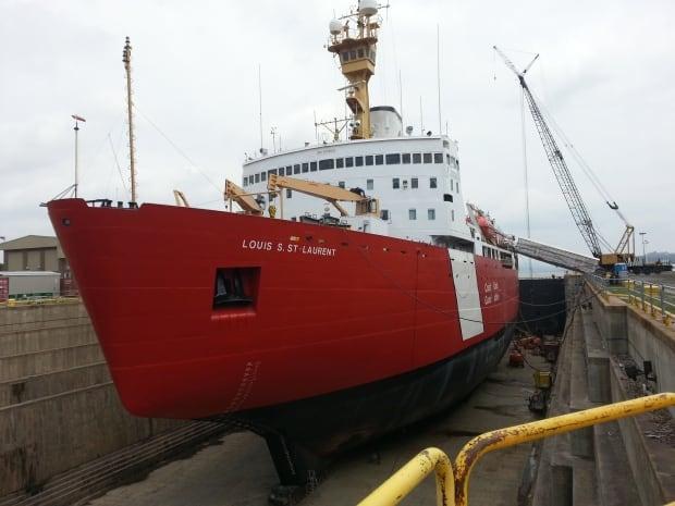 Louis St-Laurent icebreaker
