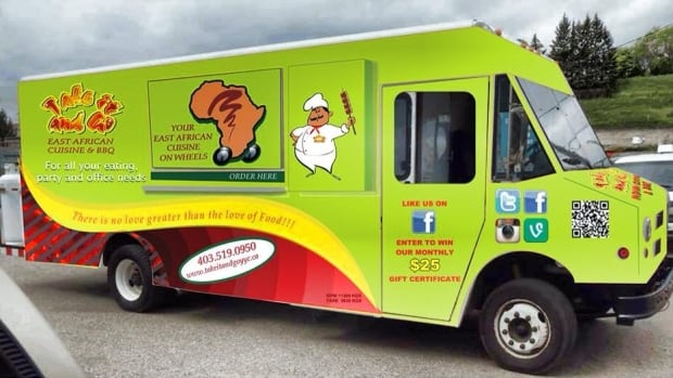 The Owner Of Take It And Go Food Truck Hopes Calgary Will Consider Relaxing Its Bylaws