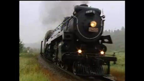 In 2005, the Canadian Pacific Railway Empress steam locomotive transported Premiers to Banff