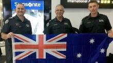 Australian fire crew