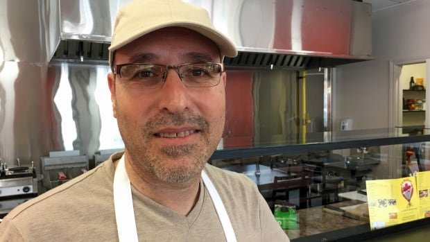 Mohammad Basem Aldehneh couldn't find work in engineering in Canada, so he and a business partner opened up Le Ballon restaurant on Wyandotte Street.