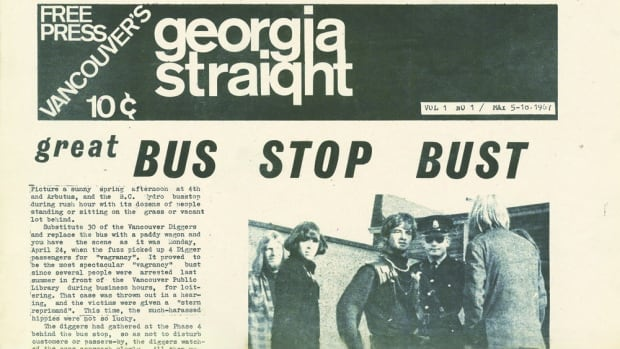 The first issue of the Georgia Straight