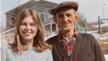 Susan Shiner with George Allen