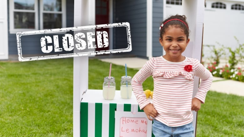 7-year-old girl's lemonade stand 'a disgrace', reports