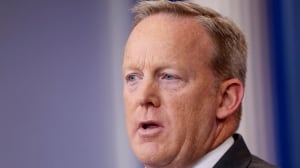 Timing of Sean Spicer's exit allows him to go 'with the least egg on his face'