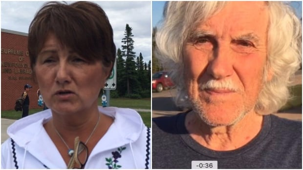 Marjorie Flowers and Jim Learning were taken into custody Friday after refusing to promise that they wouldn't try to interfere with work on the Muskrat Falls project.