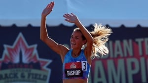 Melissa Bishop sets Canadian record in women's 800m