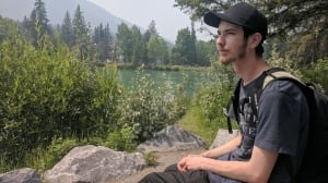 'Act like you're tanning': Homeless Banff worker spends days in park, nights in McDonald's