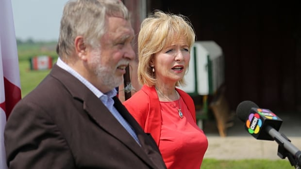 Ted McMeekin and Judi Partridge