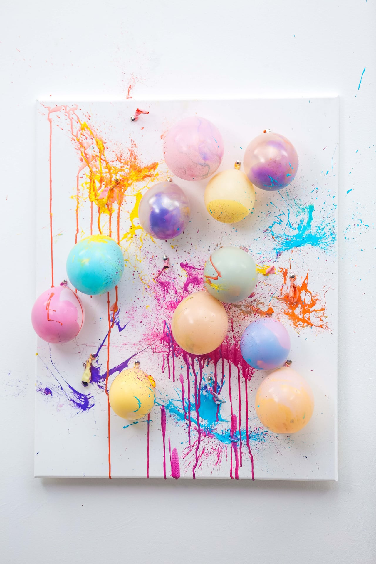 Diy Balloon Paint Splash Canvas Cbc Life
