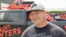Chris Chittick storm chaser Tornado Hunter