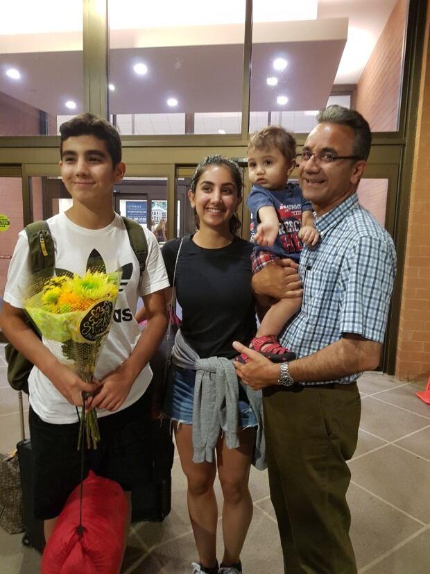 Leila Khosravi's family