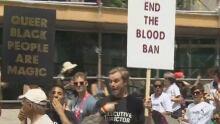blood donation ban
