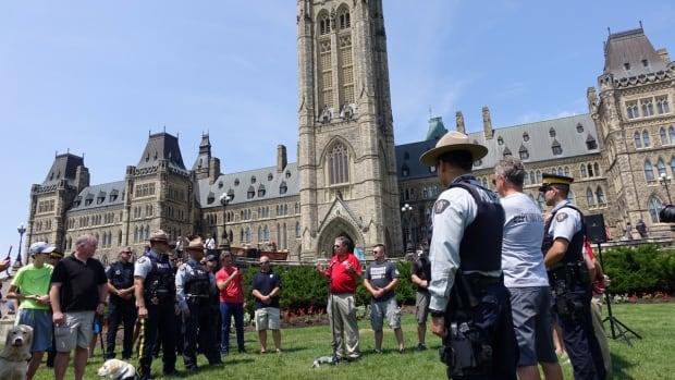 Parliament Hill Pushups PTSD