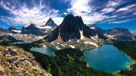 Active wildfire forces closure of Mount Assiniboine Provincial Park