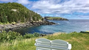Sit for a spell in Tors Cove