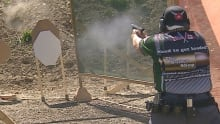 IPSC handgun shooting competition
