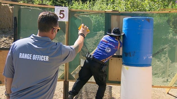 IPSC shooting competition