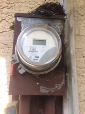 Meter fire Regna