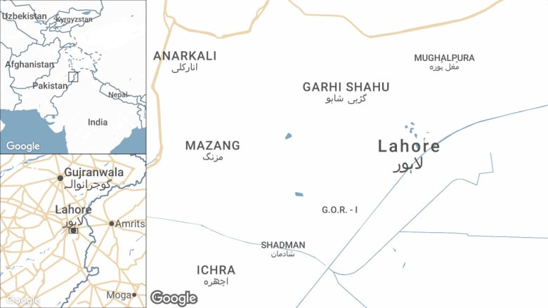 At least 26 dead in suicide bombing in eastern Pakistan