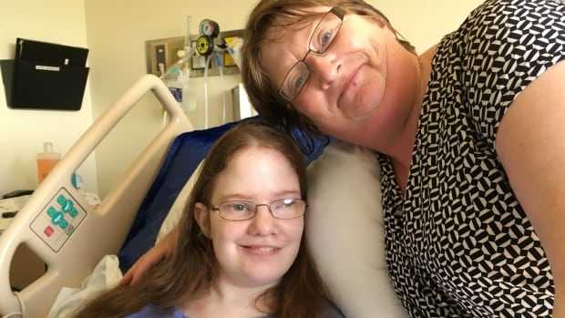 Sheila Elson's daughter, Candice Lewis, has several medical conditions, such as spina bifida, cerebral palsy and chronic seizure disorder. Elson is upset that last November, a doctor in St. Anthony, N.L., told her assisted suicide was an option for her daughter.