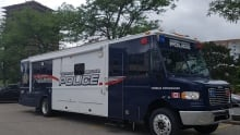 Waterloo Regional Police mobile command unit