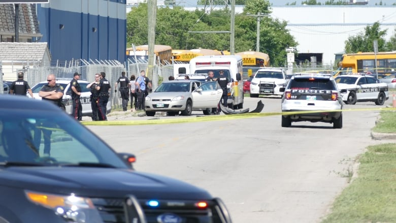 Police shoot man after high-speed chase in Winnipeg