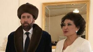 Nicolas Cage in Kazakhstan