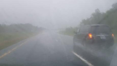 Highway 401 near 416 Rain