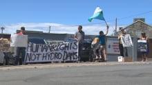 HMP protest