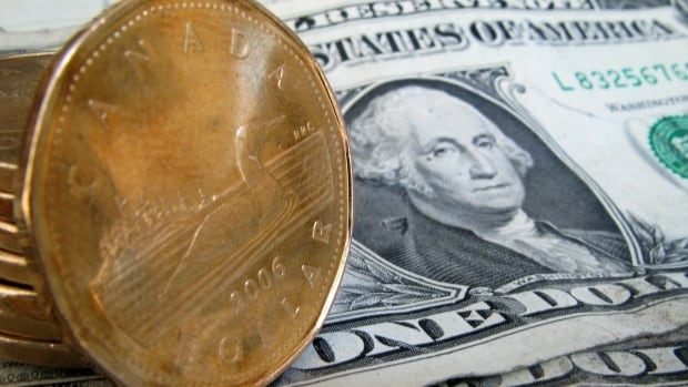 The Canadian dollar has been up sharply against the U.S. greenback in recent weeks.