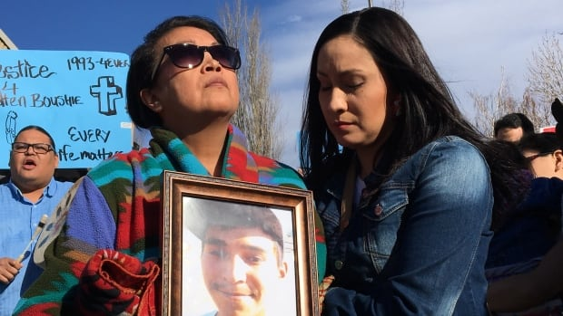 Racist social media posts followed the death of Red Pheasant Cree Nation man Colten Boushie last year. A Battlefords, Sask.-area farmer has been committed to stand trial for murder in his death.
