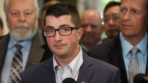 MLA Nathan Cooper was chosen Monday to serve as interim leader of the new United Conservative Party.
